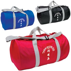 Poly/Nylon Budget Duffel for Promotion