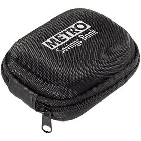 Zippered Hardshell Earbud Cases