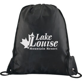Polyester Drawstring Back Pack for Your Organization