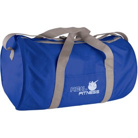 Imprinted Polyester Duffel Bag