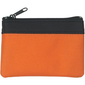 Promotional Polyester Zippered Coin Pouch