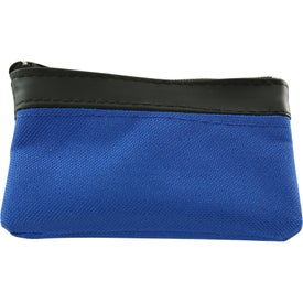 Polyester Zippered Coin Pouch for your School