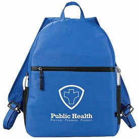 Imprinted PolyPro Backpack