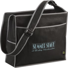 Branded PolyPro Box Deluxe Convention Tote