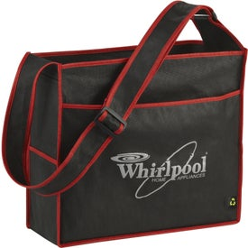 PolyPro Box Deluxe Convention Tote Imprinted with Your Logo