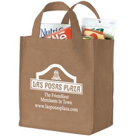 Printed Polytex Deluxe Grocery Bag
