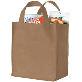 Monogrammed Polytex Deluxe Grocery Bag