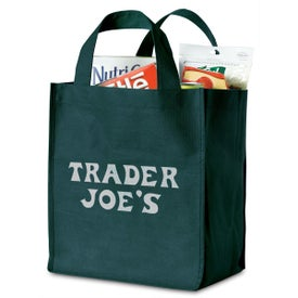 Imprinted Polytex Deluxe Grocery Bag