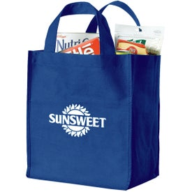 Customized Polytex Deluxe Grocery Bag