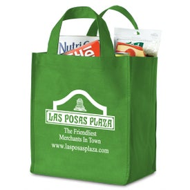 Polytex Deluxe Grocery Bag with Your Slogan