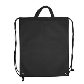 Company Polytex Drawstring Backpack With Handle