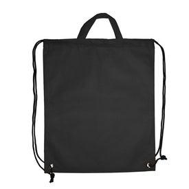 Company Polytex Drawstring Backpack With Handle