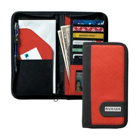 Polytex Travel Document Case Imprinted with Your Logo