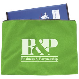 Promotional Polytex Zippered Document Case