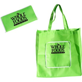 Polytex Zippered Fold Up Shopper for Your Company