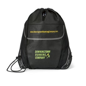 Poncho Cinchpack Kit Printed with Your Logo
