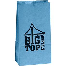 "Popcorn Bag (4.25"" x 8.25"" x 2.25"", Colors)"