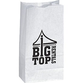 Popcorn Bag (White)