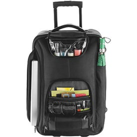 "Promotional Portland 21"" Wheeled Carry-On with Compu-Sleeve"