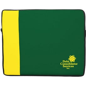 "Premium Neoprene Laptop Sleeve Two Tone (16.4"" x 13"" x 1.25"")"