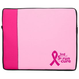 Monogrammed Premium Neoprene Laptop Sleeve Two Tone
