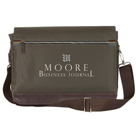 Academe Computer Messenger Bag for Your Organization