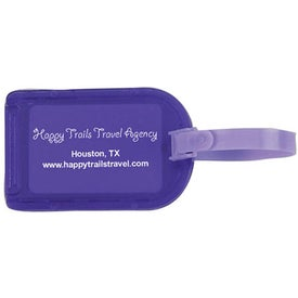 Privacy Bag Tag for Marketing