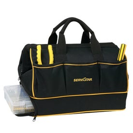 Professional Tool Bag with Base Compartment