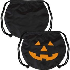 Branded PartyTime Pumpkin Drawstring Bag