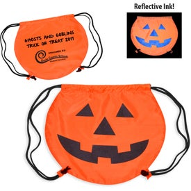 PartyTime Pumpkin Drawstring Bag for Your Church