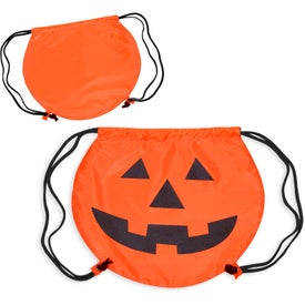 PartyTime Pumpkin Drawstring Bag for Marketing