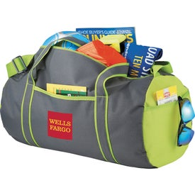 Punch Barrel Duffel Bag for Your Company