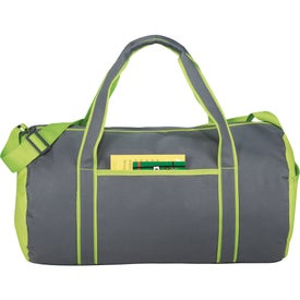 Customized Punch Barrel Duffel Bag