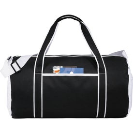 Imprinted Punch Barrel Duffel Bag