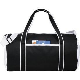 Imprinted Punch Barrel Duffel Bag