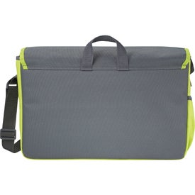 Punch Compu-Messenger Bag with Your Slogan