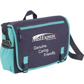 Custom Punch Compu-Messenger Bag