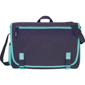 Advertising Punch Compu-Messenger Bag