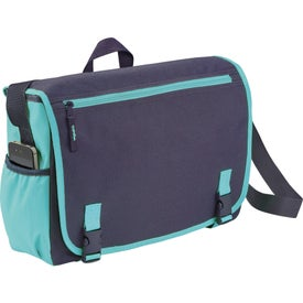 Logo Punch Compu-Messenger Bag