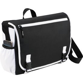 Customized Punch Compu-Messenger Bag
