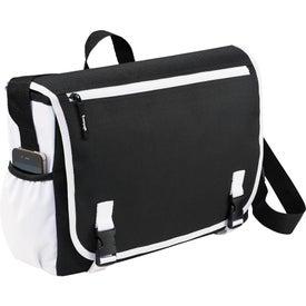 Customized Punch Compu-Messenger Bag