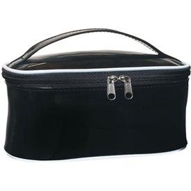 Monogrammed PVC Cosmetic Bag