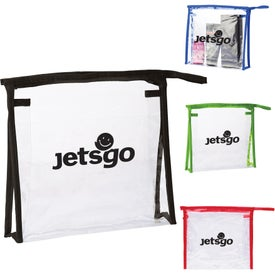Quart Size PVC Travel Amenities Cases