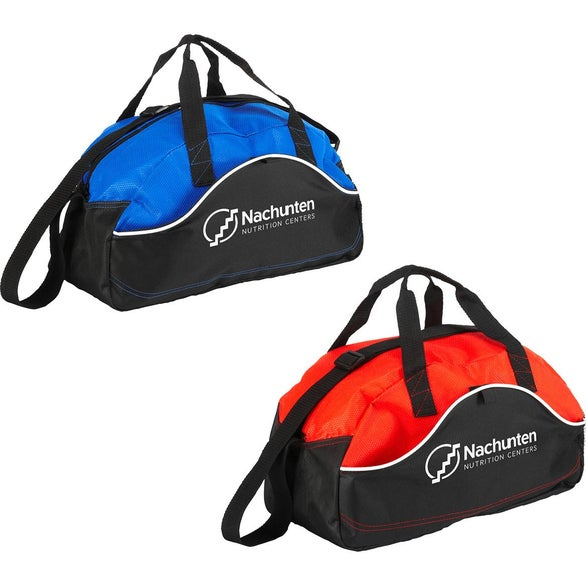 Blue / Black Quick Kick Duffel Bag