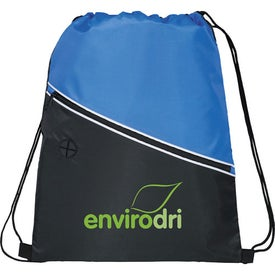 Railway Drawstring Cinch Backpack for Promotion
