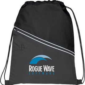 Railway Drawstring Cinch Backpack for Your Church