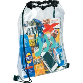 Rally Clear Cinch Bag Giveaways
