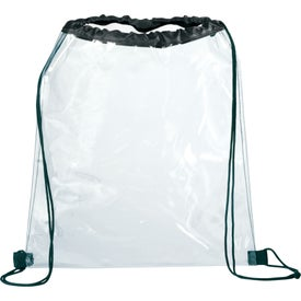Promotional Rally Clear Cinch Bag