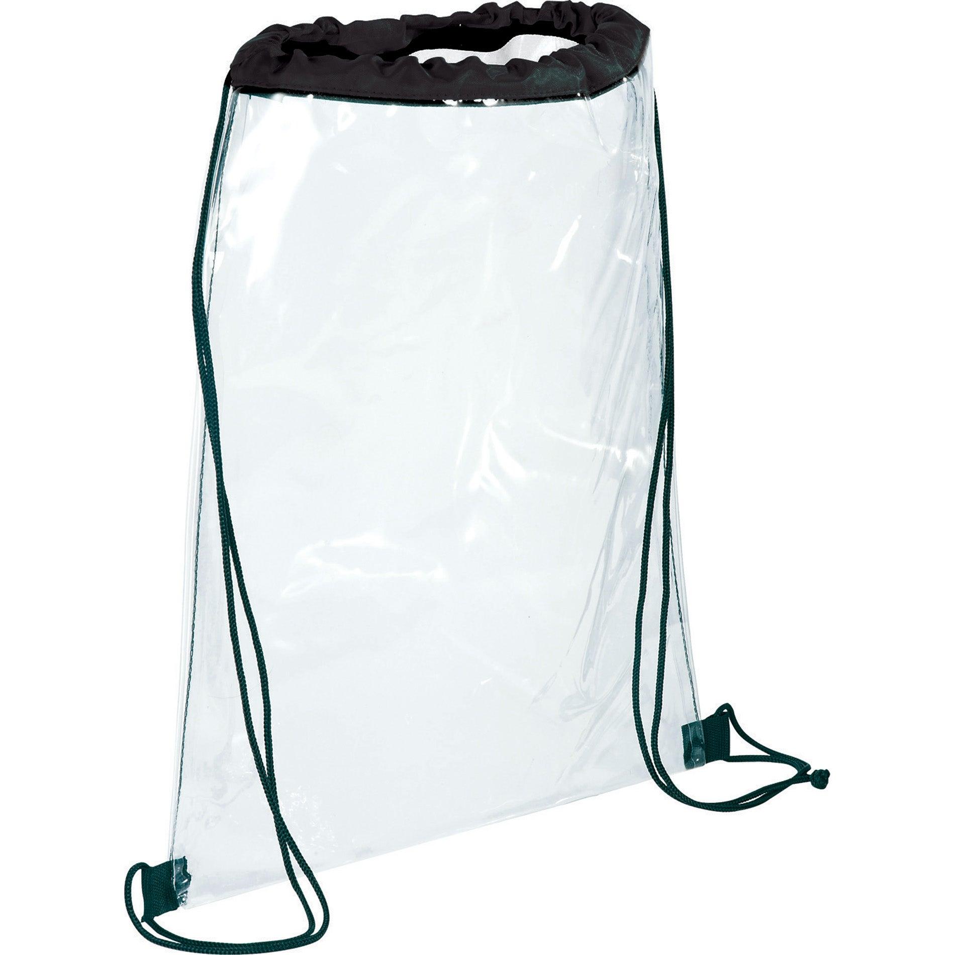 Rally Clear Cinch Bags Custom