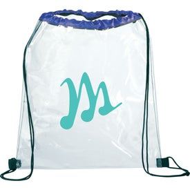Rally Clear Cinch Bag for Promotion